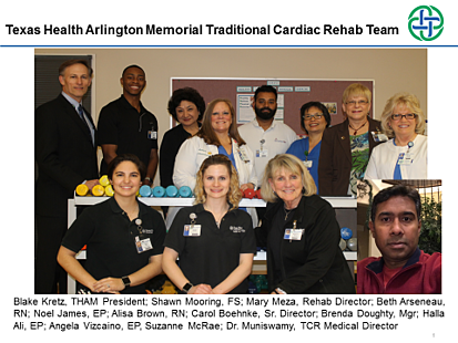 Texas Health Arlington Memorial Cardiac Rehab