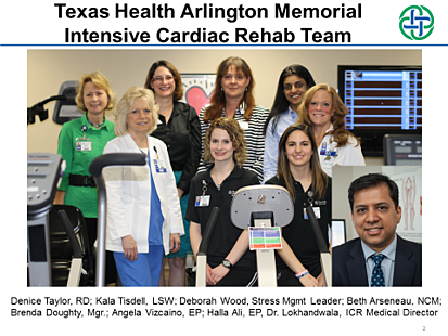 Texas Health Arlington Memorial Intensive Cardiac Rehab