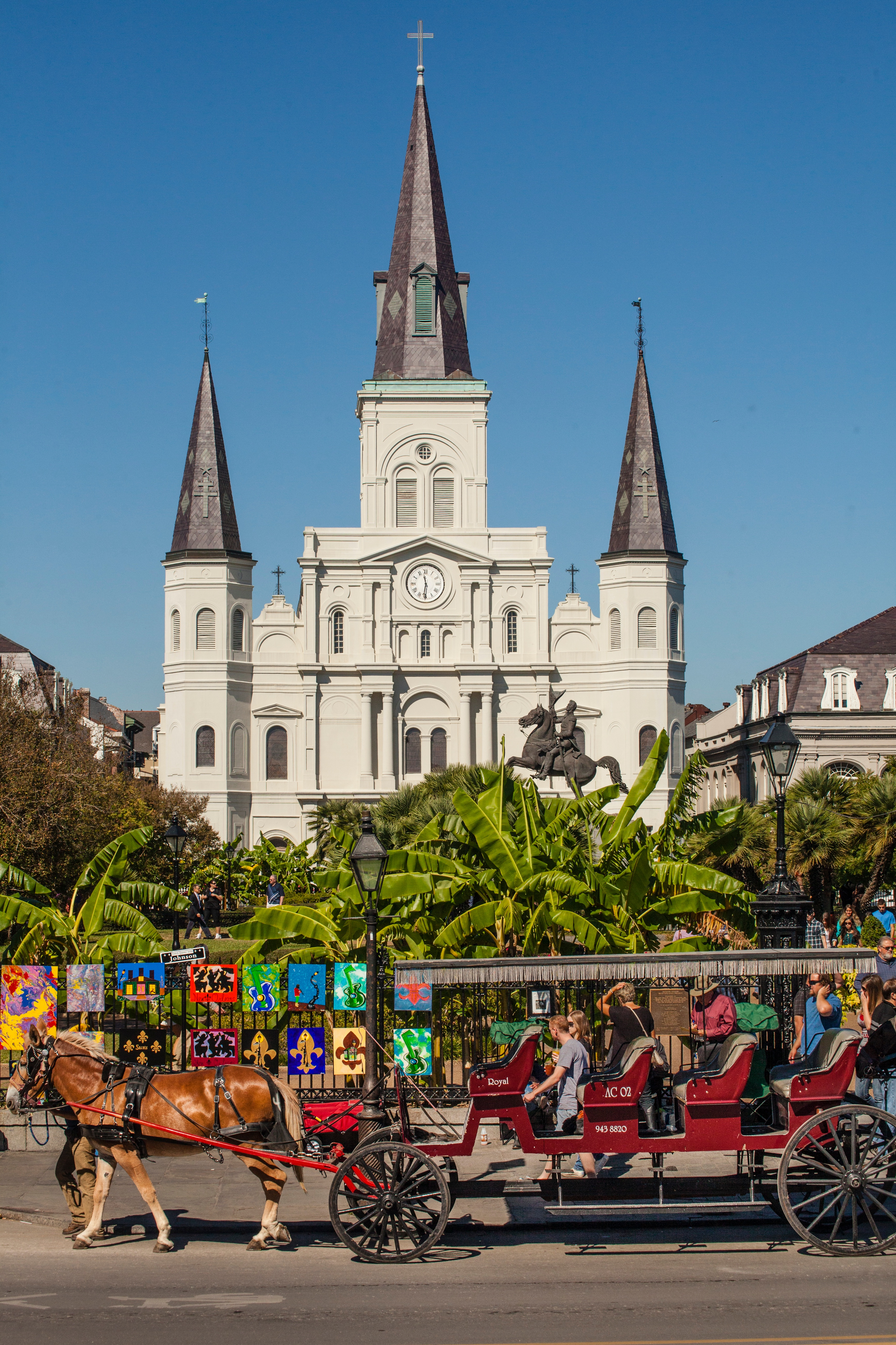 St. Louis Cathedral in Jackson Square, New Orleans
