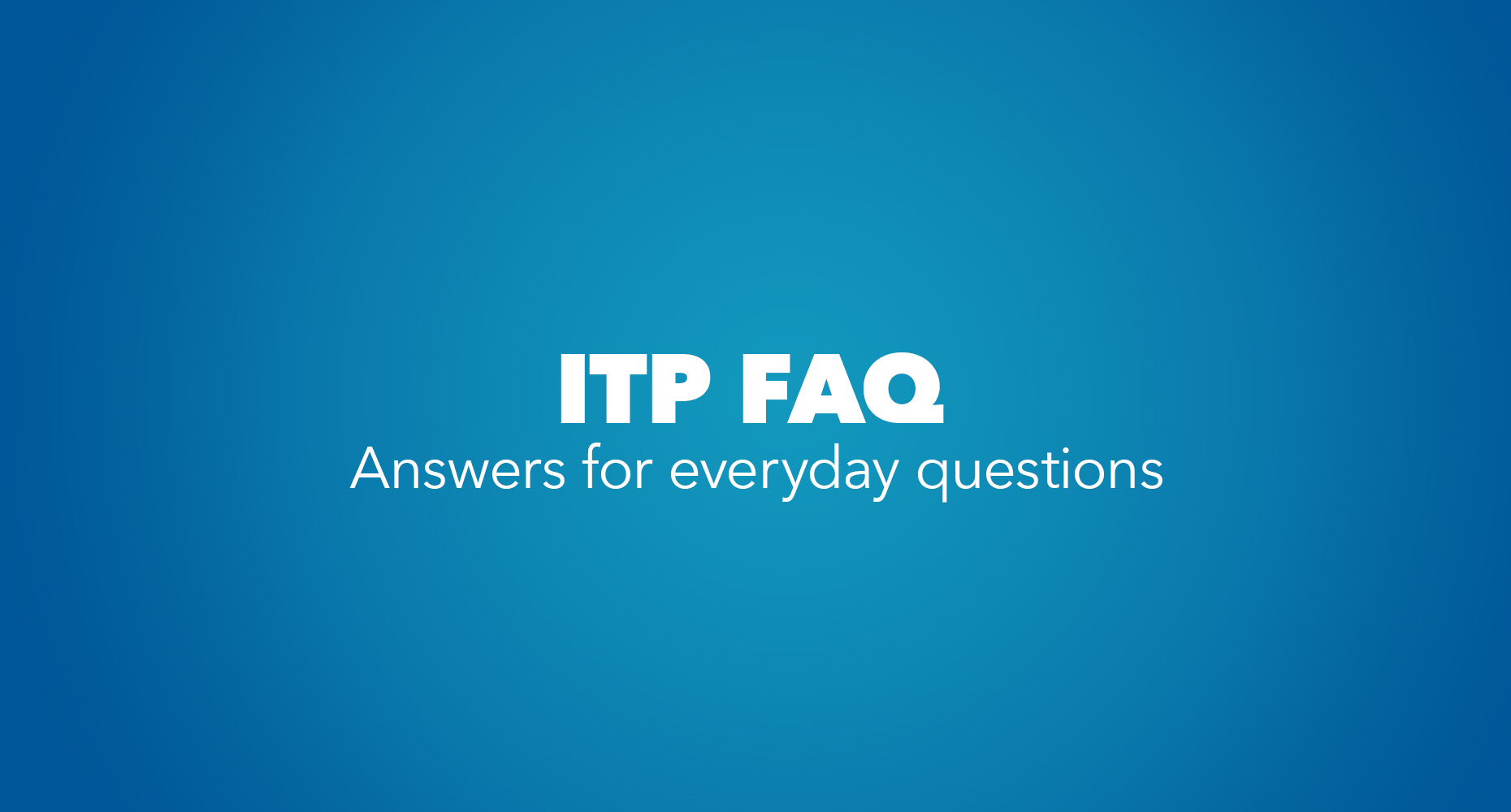 ITP FAQ_Image Card