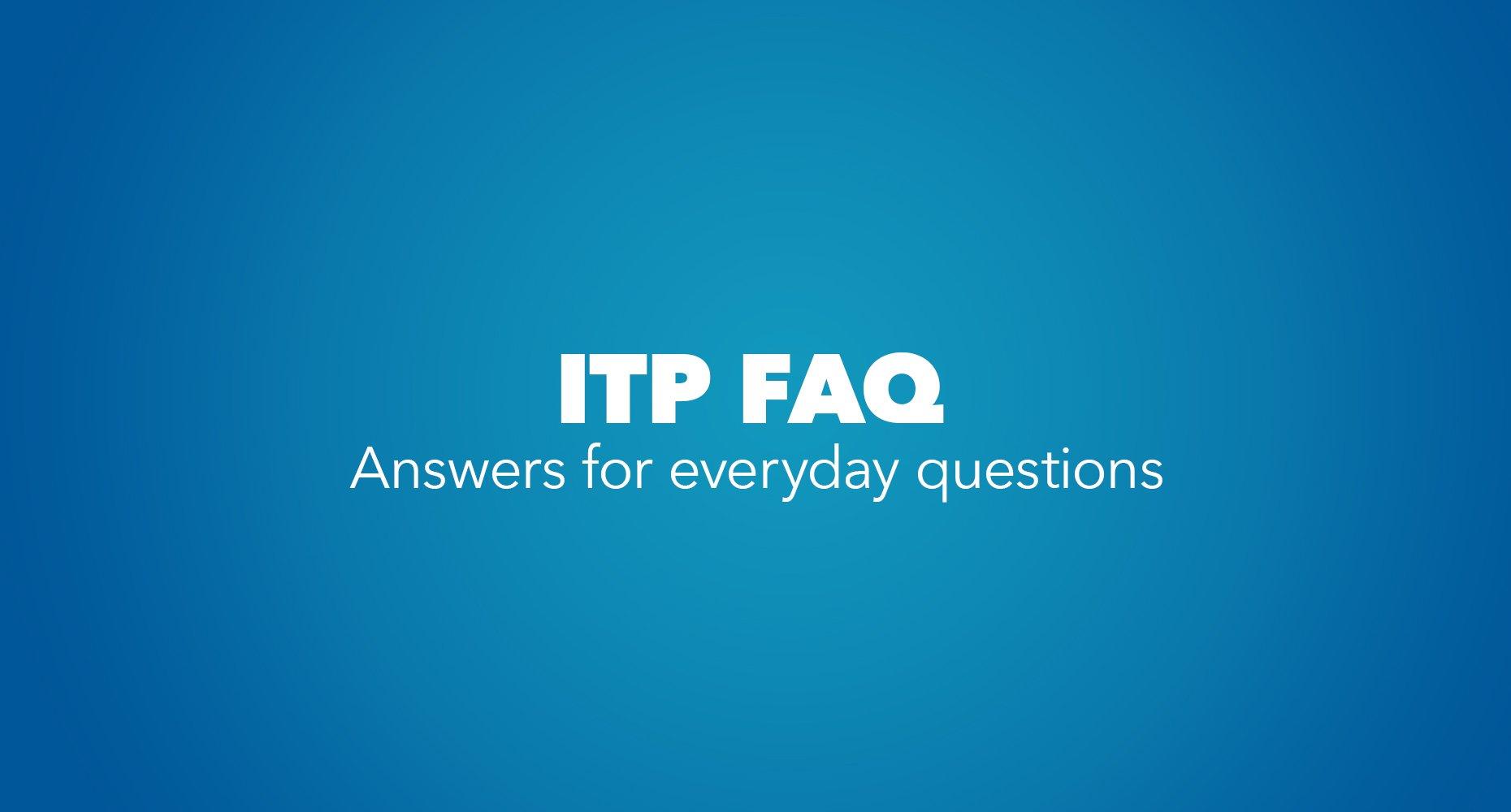 ITP FAQ_Image Card